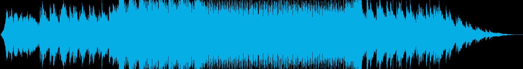 クルマCMのような壮大で躍動的な楽曲の再生済みの波形