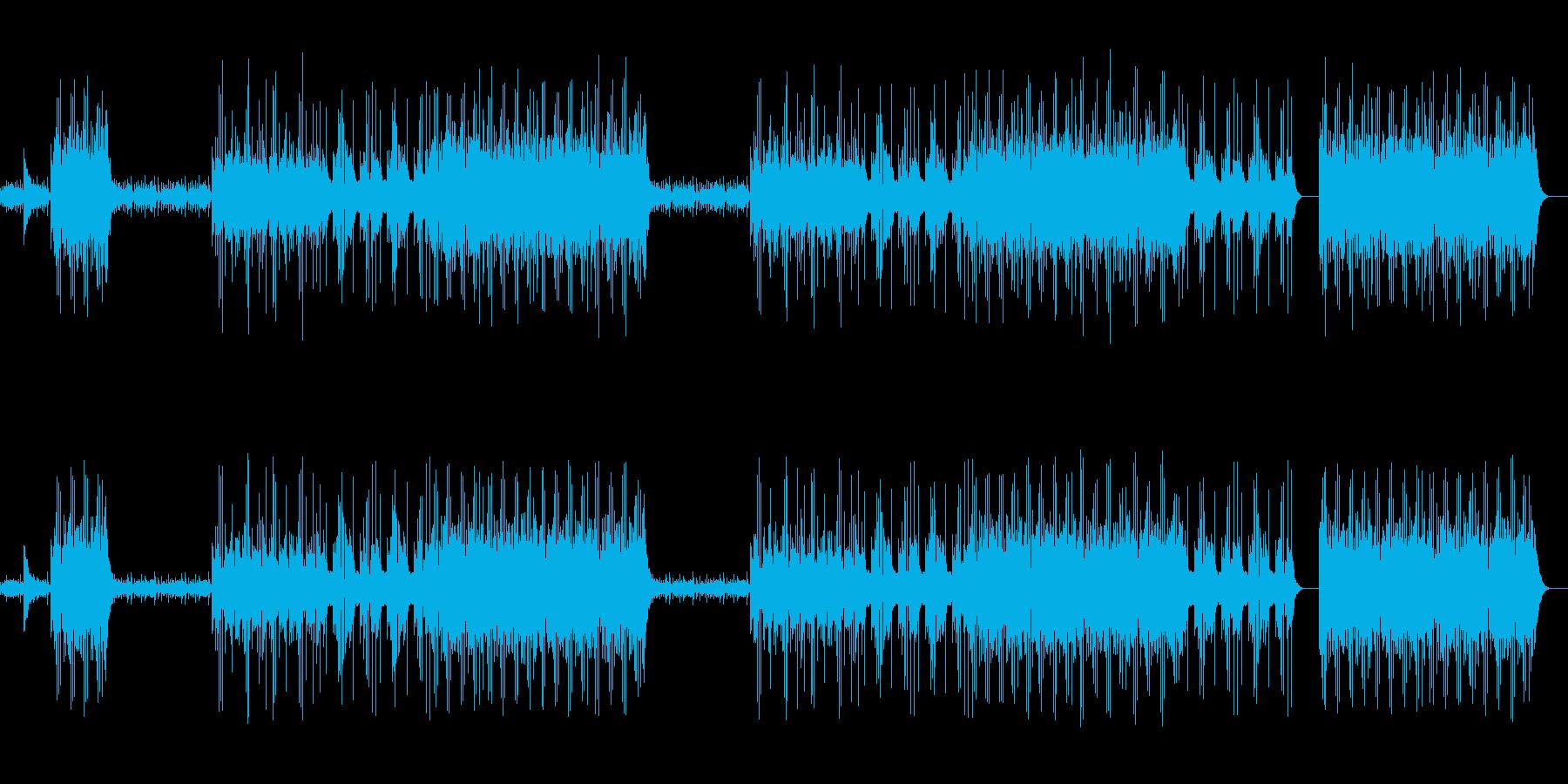 和太鼓/三味線/琴/和風/クランク#2の再生済みの波形