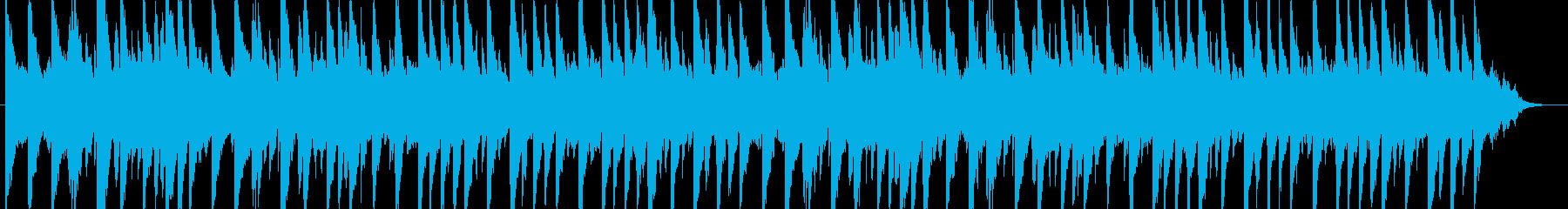 ノスタルジックな曲の再生済みの波形