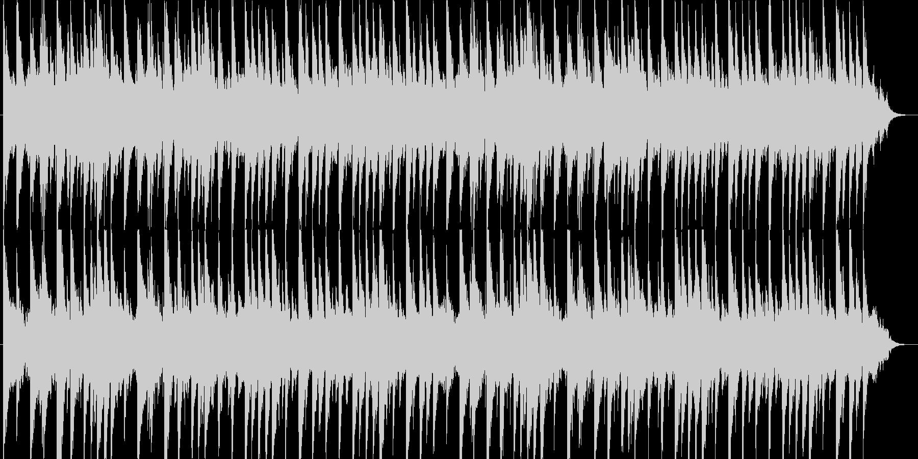 ノスタルジックな曲の未再生の波形