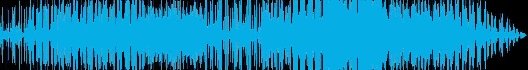 ダブを採り入れた存在感濃厚なポップの再生済みの波形