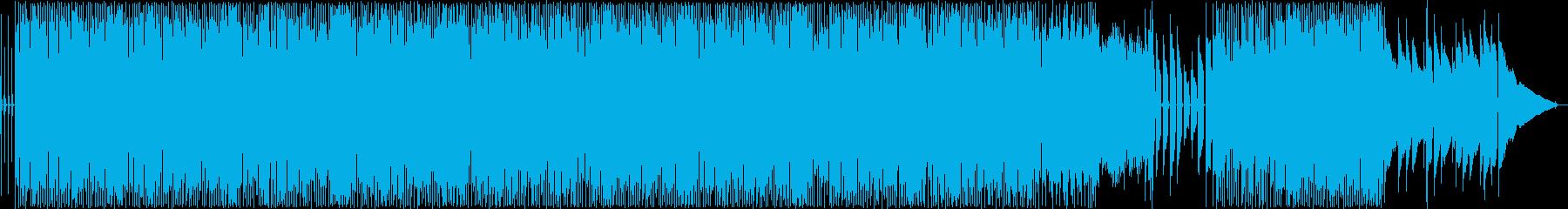 明るく元気なギター・ドラムサウンドの再生済みの波形