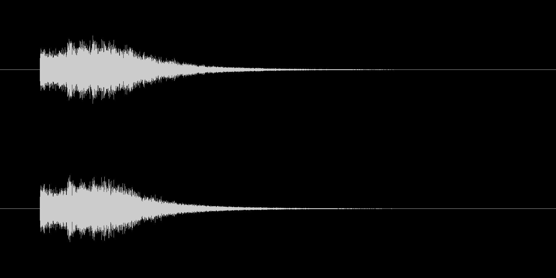 ピンポンパン(透明感、爽やか)の未再生の波形