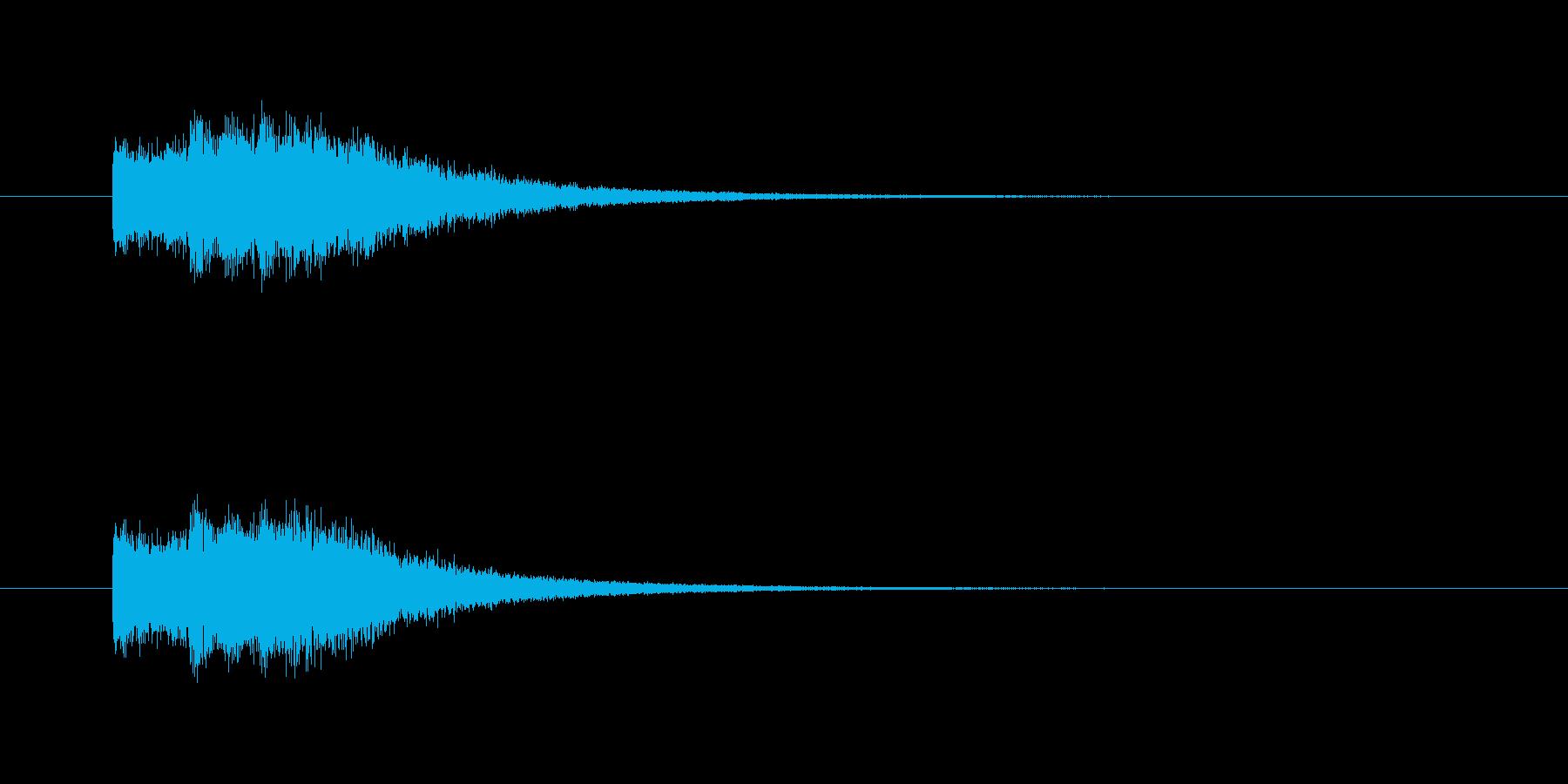 ピンポンパン(透明感、爽やか)の再生済みの波形