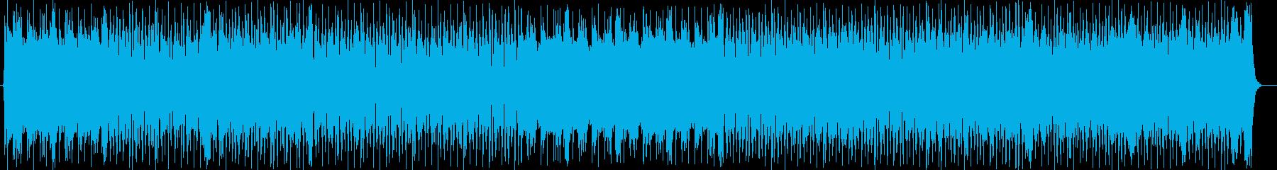 ワイルドでクールなエレキサウンドの再生済みの波形