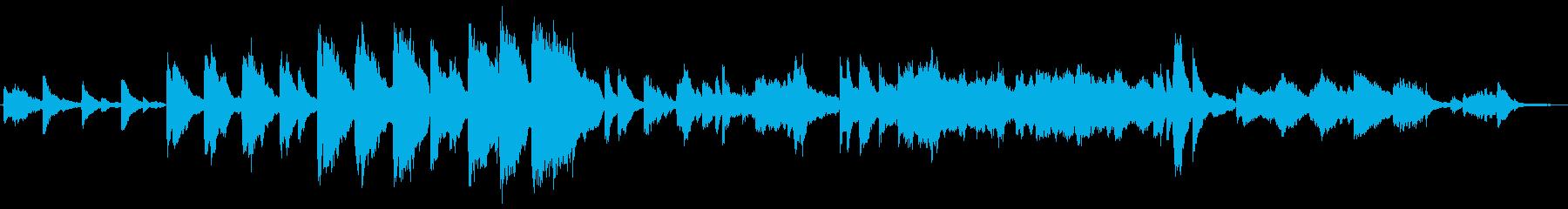 切ないドラマチックな映像にピアノと弦で。の再生済みの波形