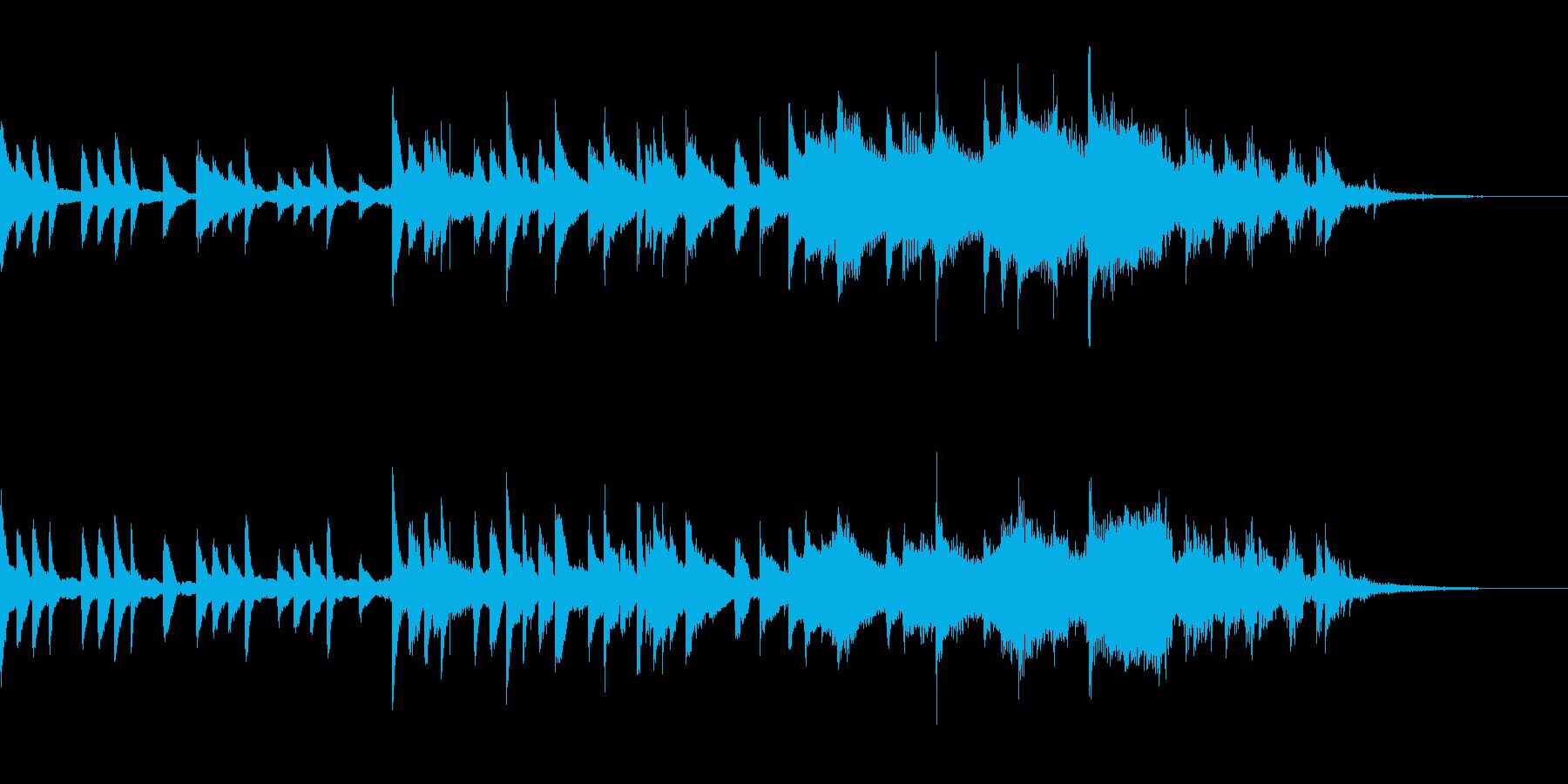 幻想的なピアノが印象的なジングルの再生済みの波形