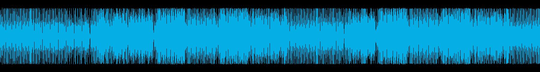 明るく軽快なチップチューンサウンドの再生済みの波形