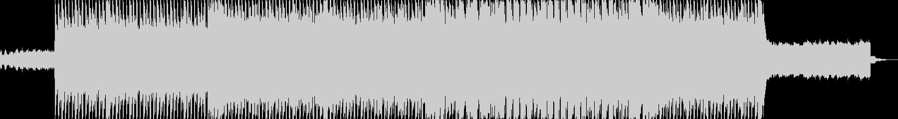 ハイテンポのノリノリの楽曲で、レトロな…の未再生の波形
