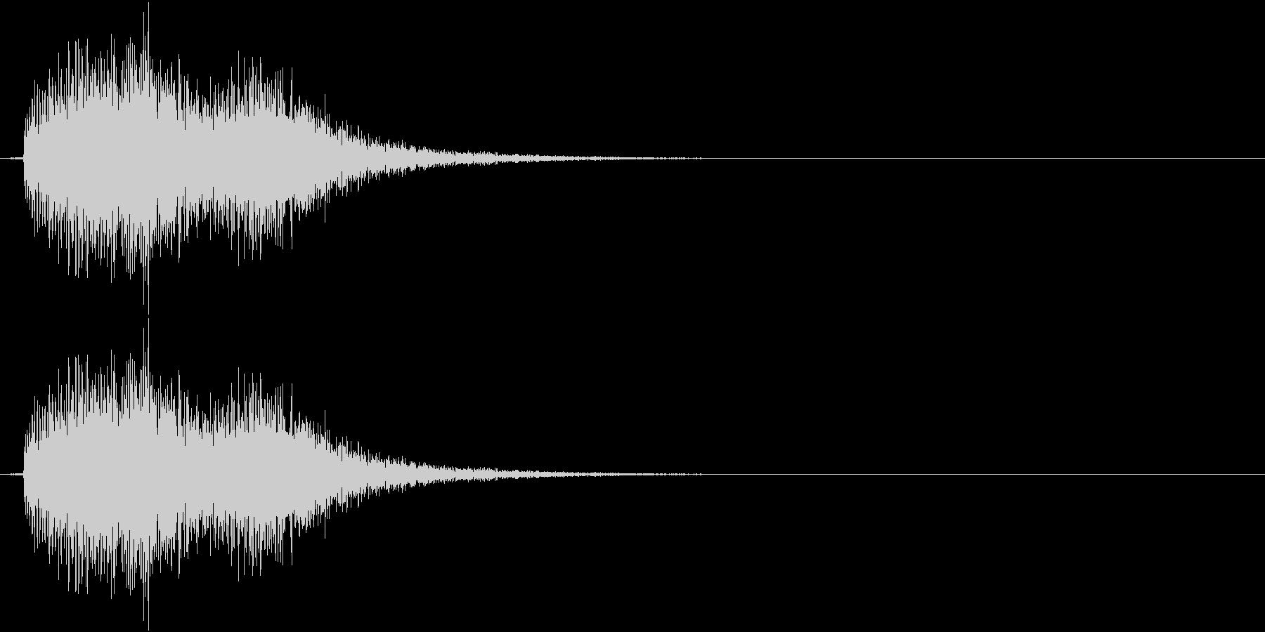 テロリン(決定、ゲーム、アプリ)の未再生の波形