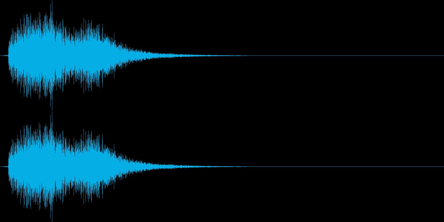 テロリン(決定、ゲーム、アプリ)の再生済みの波形
