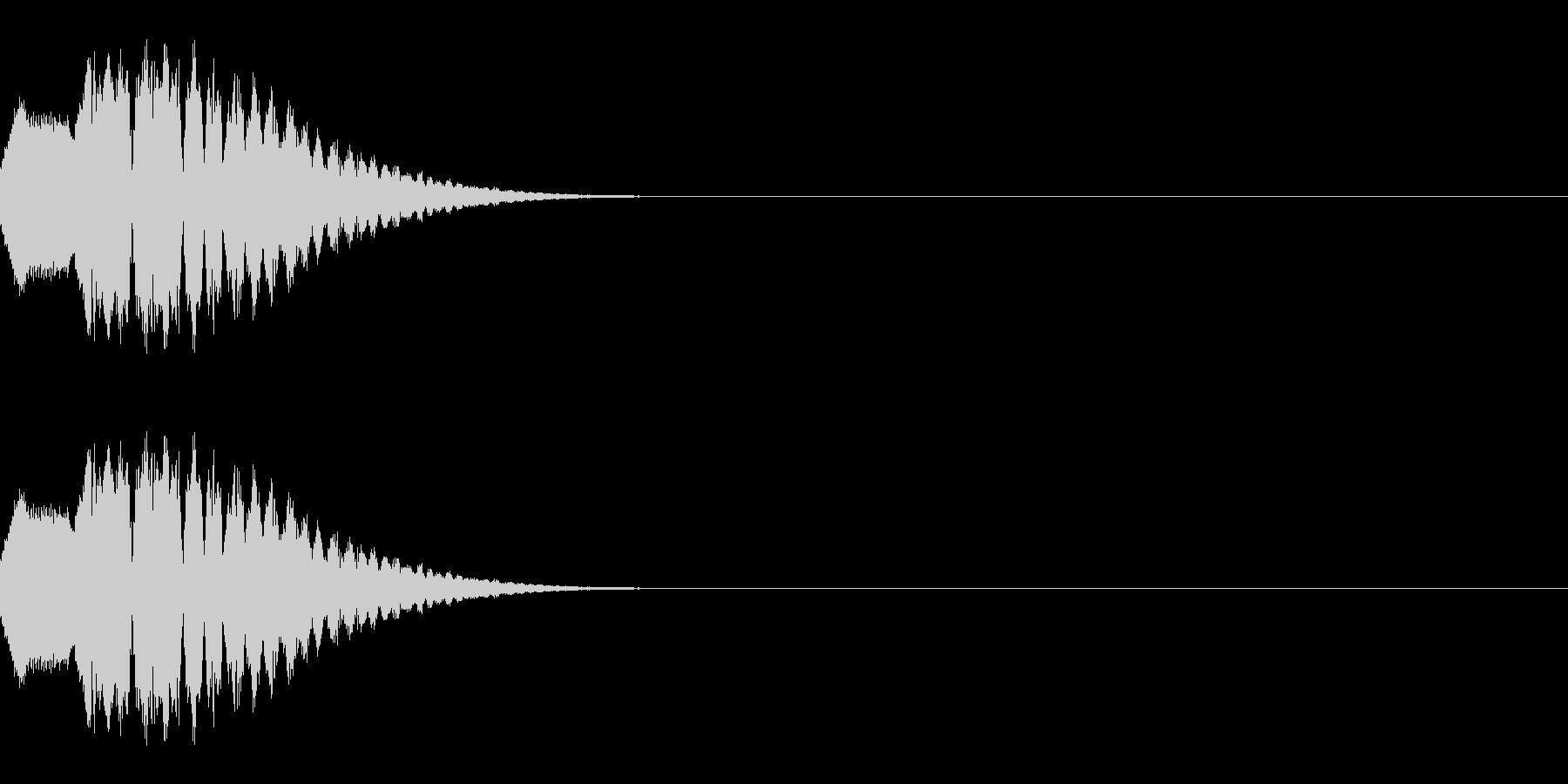 ポップな上昇系の効果音_その3の未再生の波形