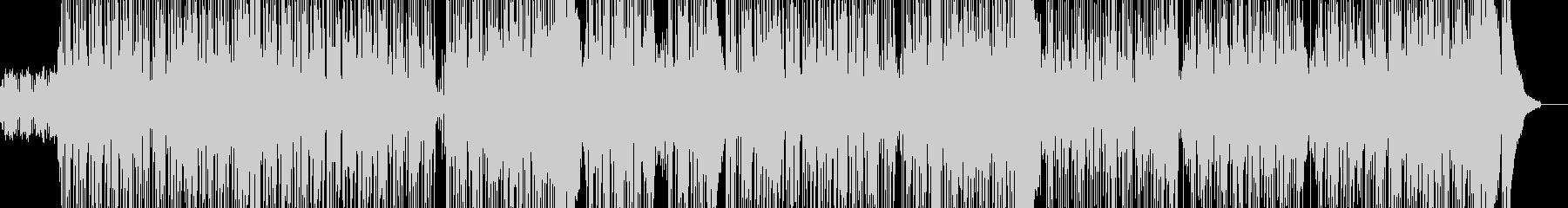 都会的で川に反射するアシッドジャズの未再生の波形