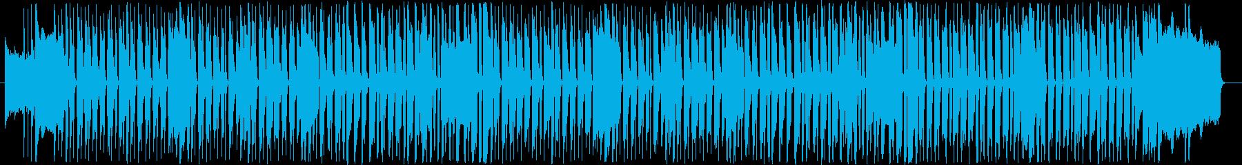 オルガンとベースの温かみのあるポップの再生済みの波形