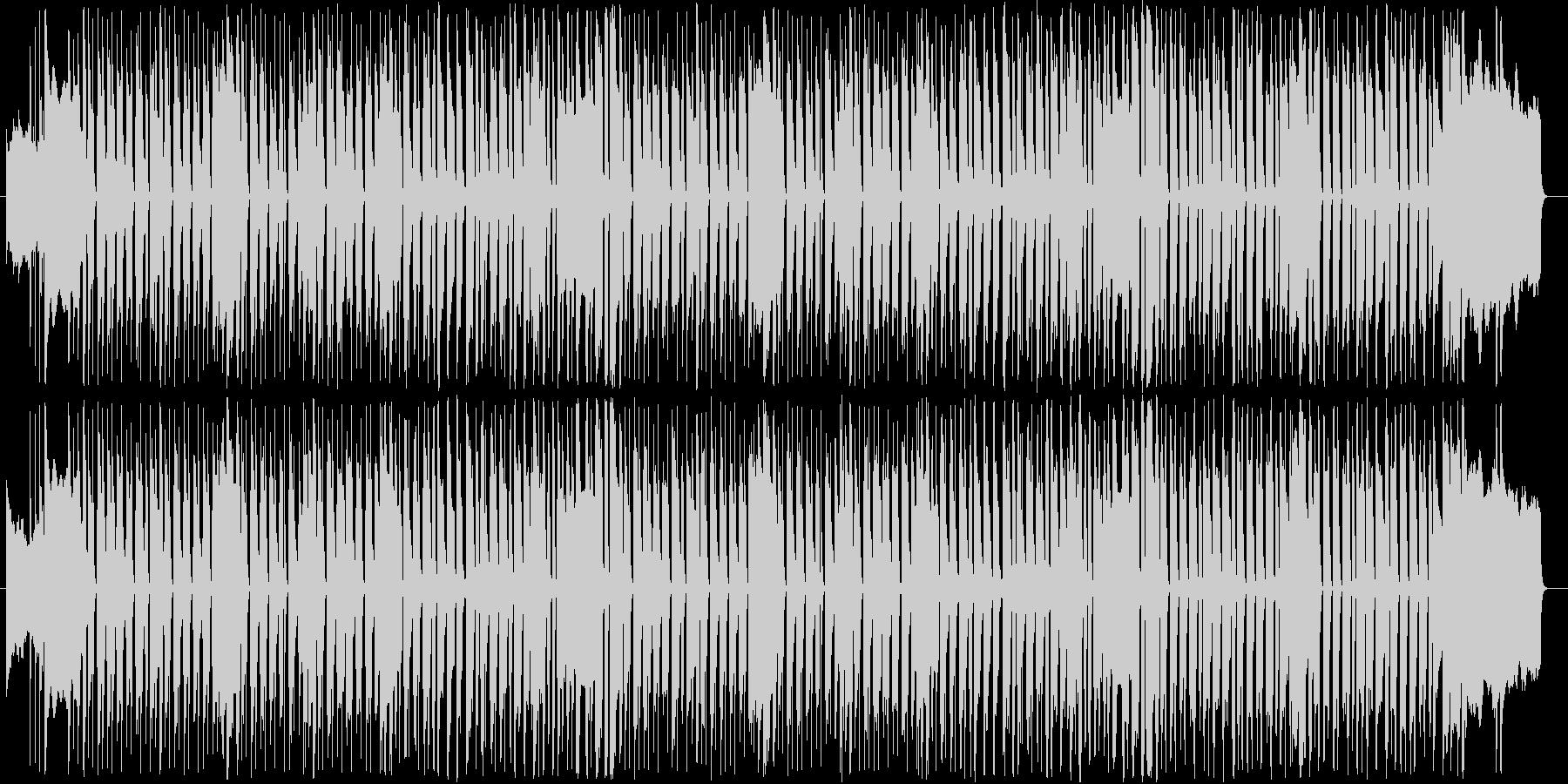 オルガンとベースの温かみのあるポップの未再生の波形