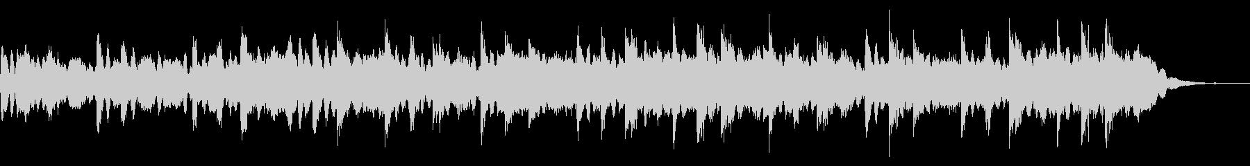 お化け屋敷に最適な恐怖なシンセサイザー曲の未再生の波形