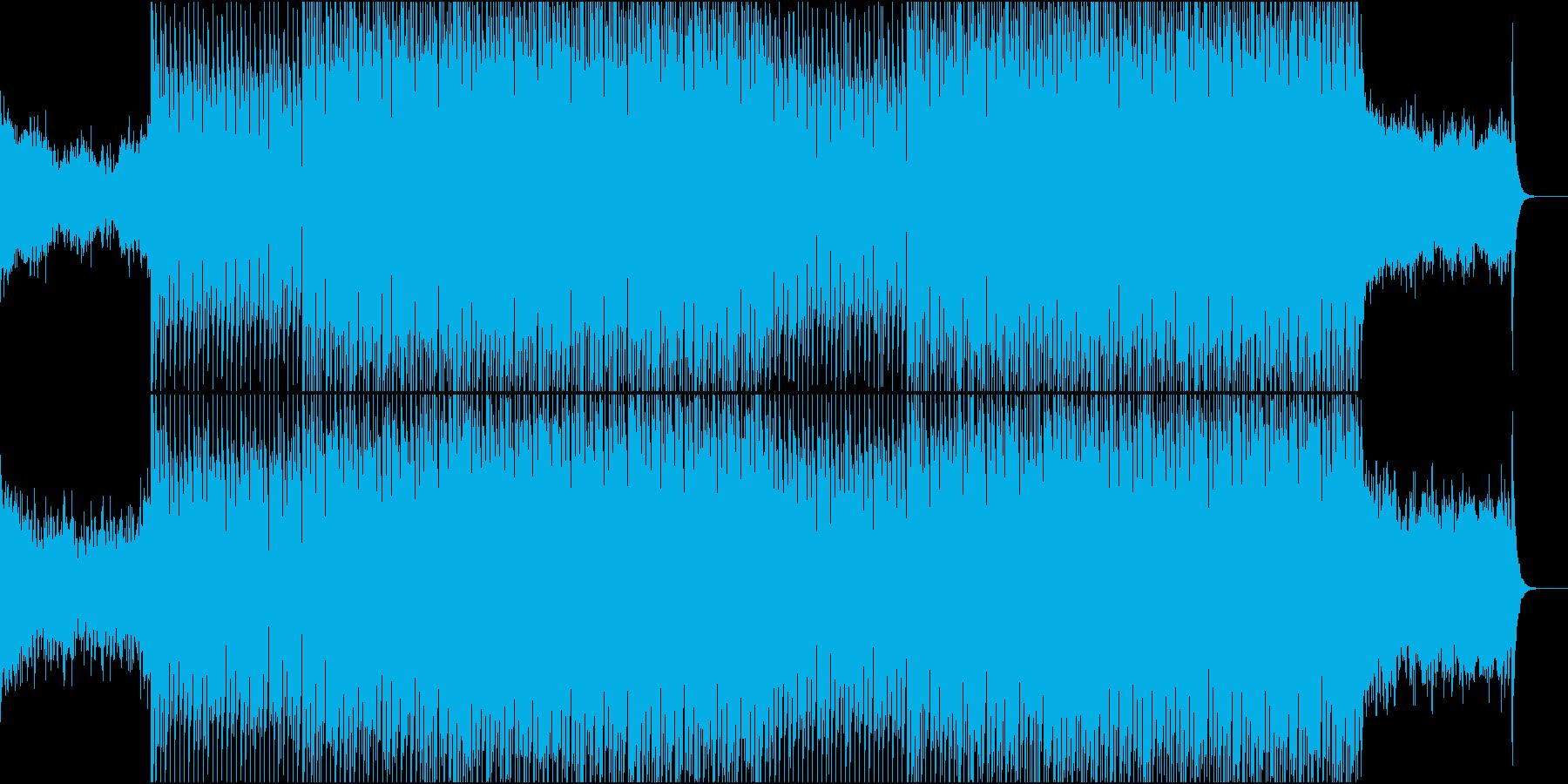 EDMクラブ系ダンスミュージック-53の再生済みの波形