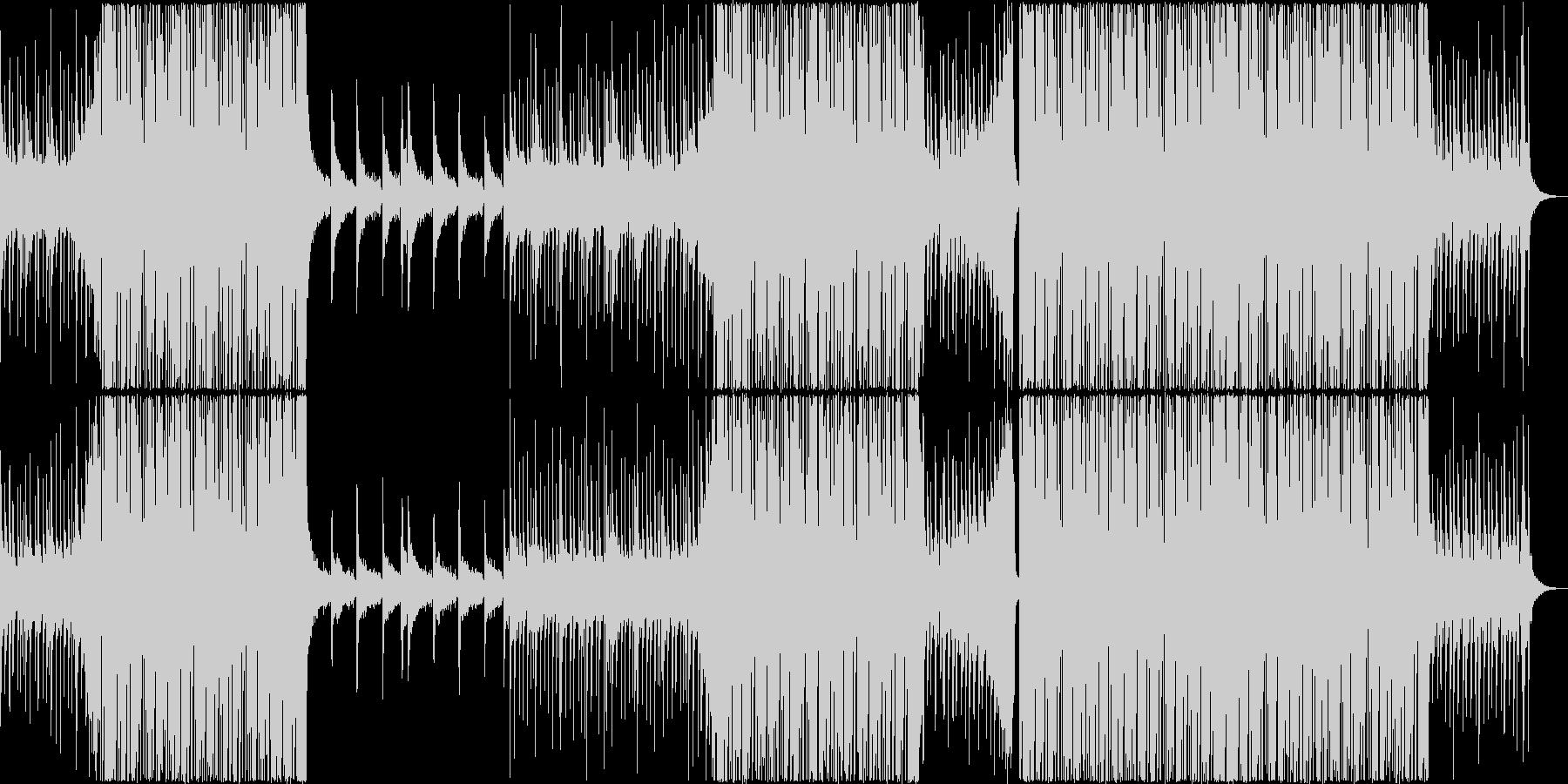 パーティーチューンなトロピカルハウス#2の未再生の波形