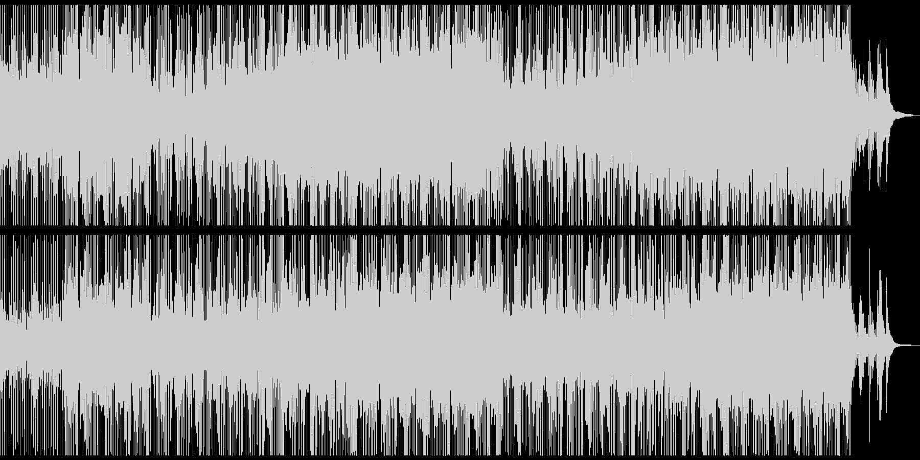 メロディレスの爽やか+切ないポップロックの未再生の波形