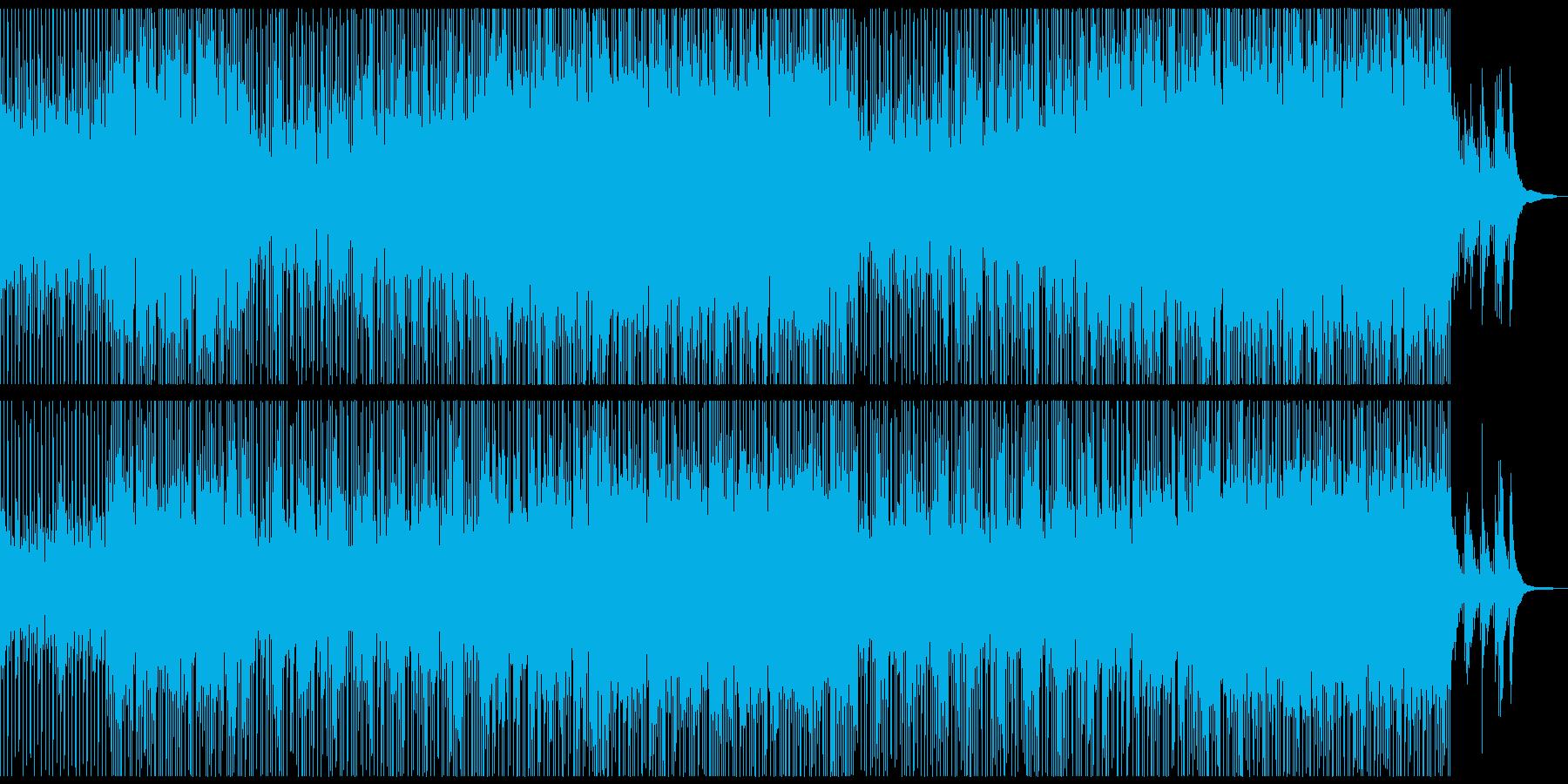 メロディレスの爽やか+切ないポップロックの再生済みの波形