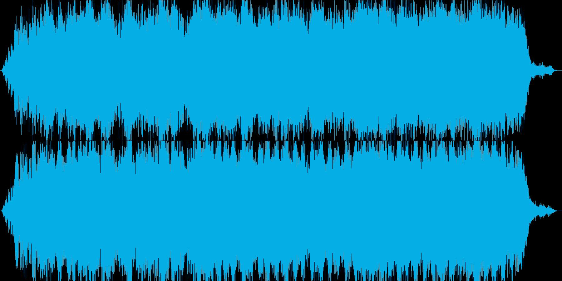 アンビエント系の曲 宇宙空間 神秘的の再生済みの波形