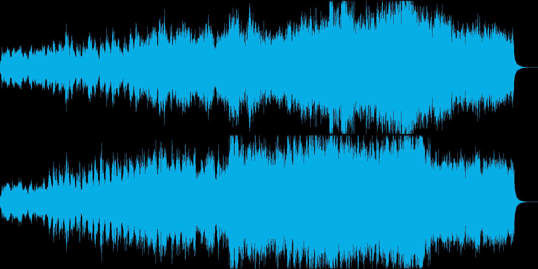 物語が始まるワクワクしたイメージのBGMの再生済みの波形