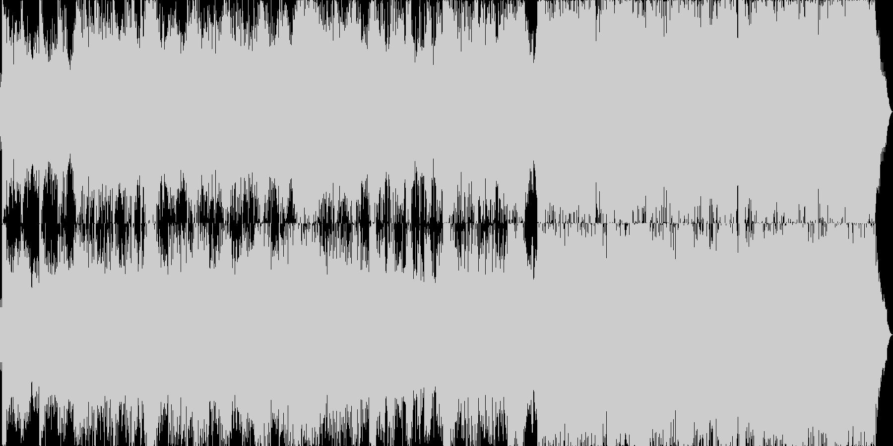 映画音楽的高速ブレイクス■非ループ版の未再生の波形
