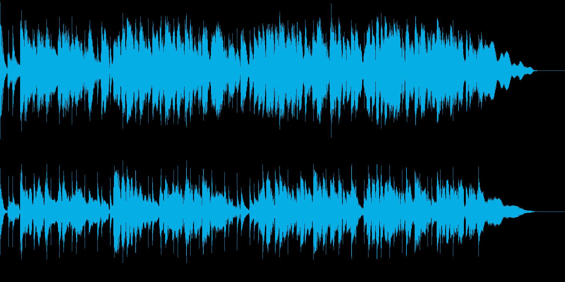 ブルース カフェっぽさ 生演奏の再生済みの波形