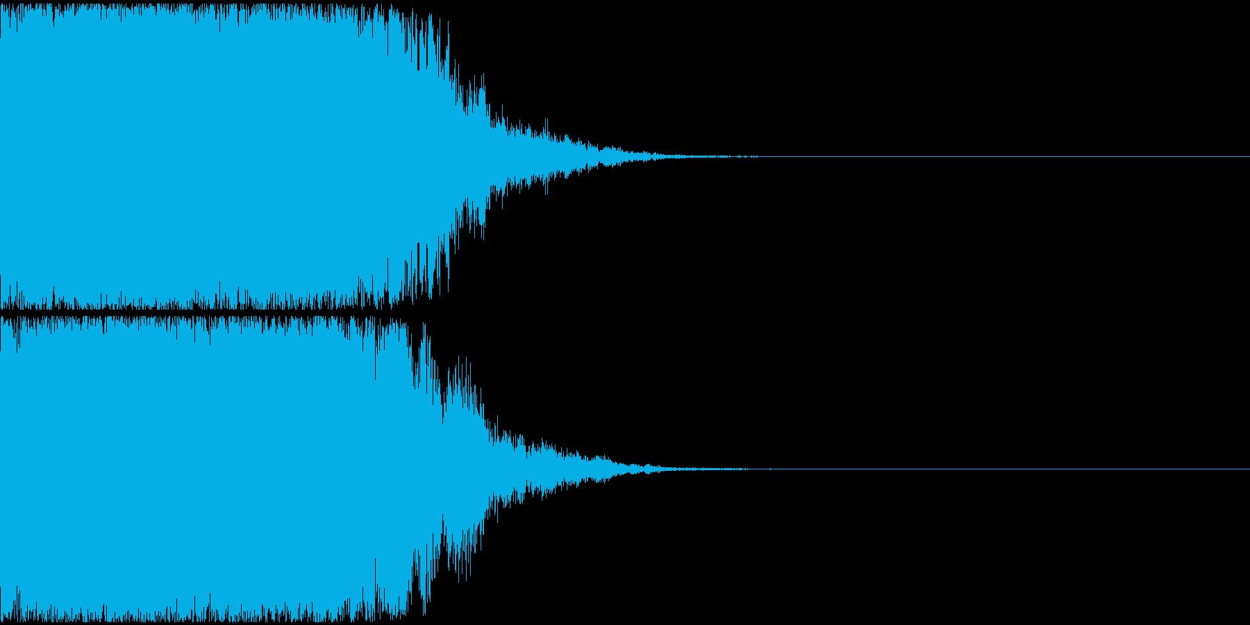 光『きゅいーん』_02の再生済みの波形