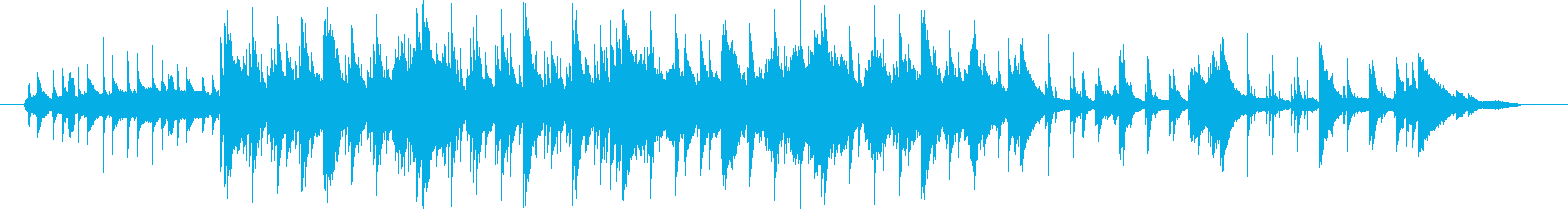ピアノ曲です。すこし暗めのヒーリングミ…の再生済みの波形