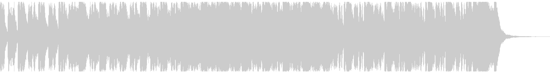明るい行進曲風オーケストラ約55秒Verの未再生の波形