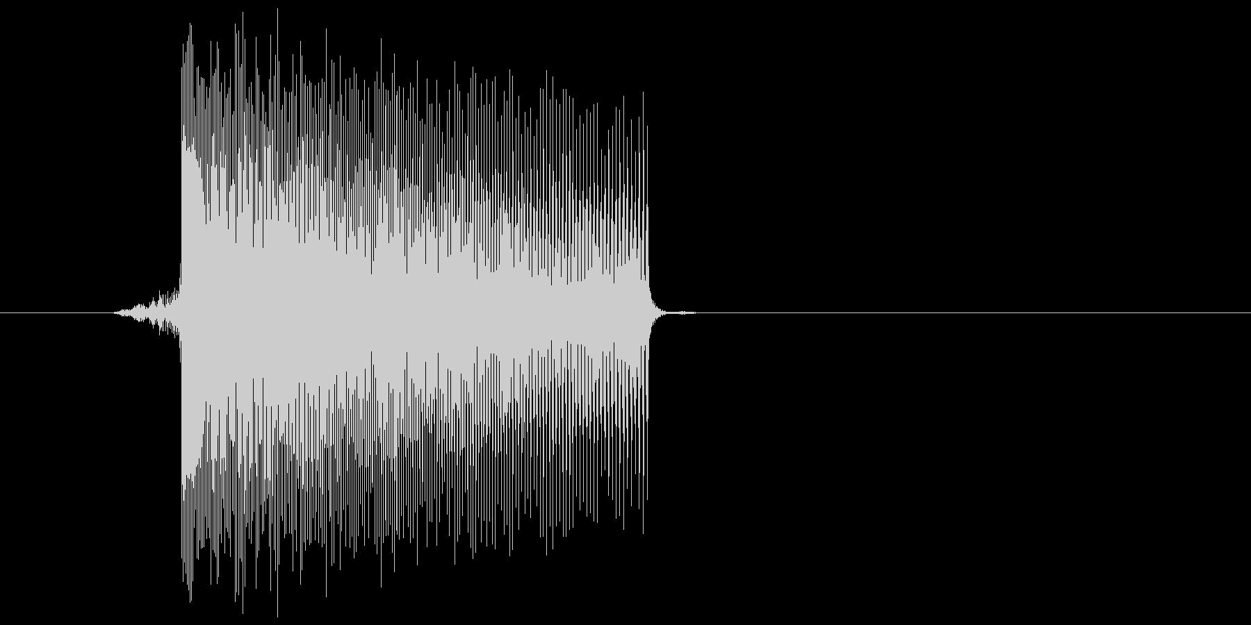 ゲーム(ファミコン風)レーザー音_026の未再生の波形