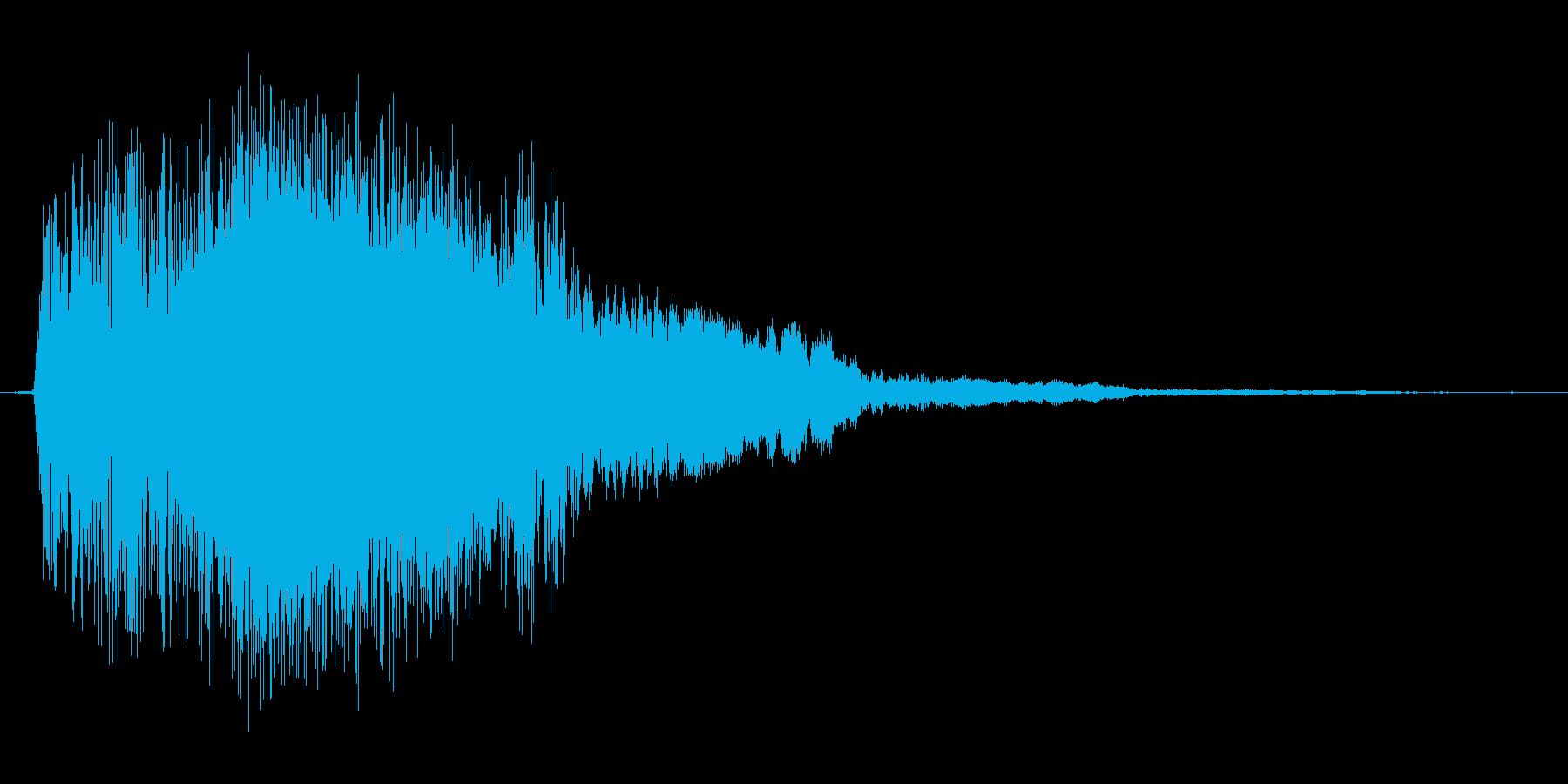 武器_金属_ヒット_攻撃_防御_04の再生済みの波形