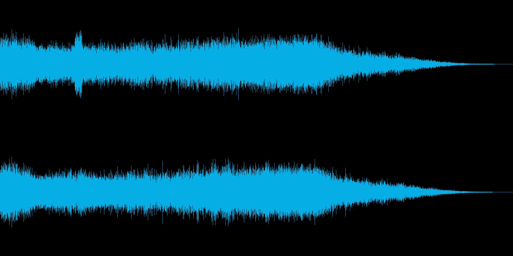 [ビシュイーン]パワー溜め(綺羅びやか)の再生済みの波形