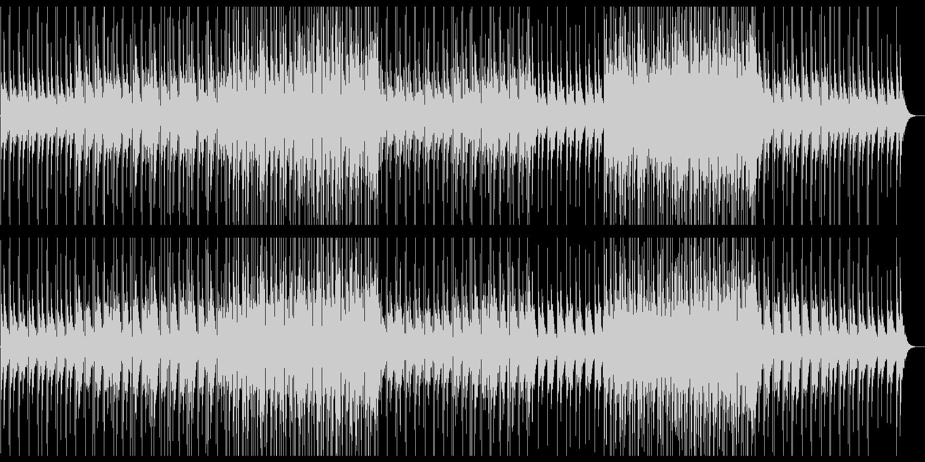 コミカル・エレクトロポップ・120BPMの未再生の波形