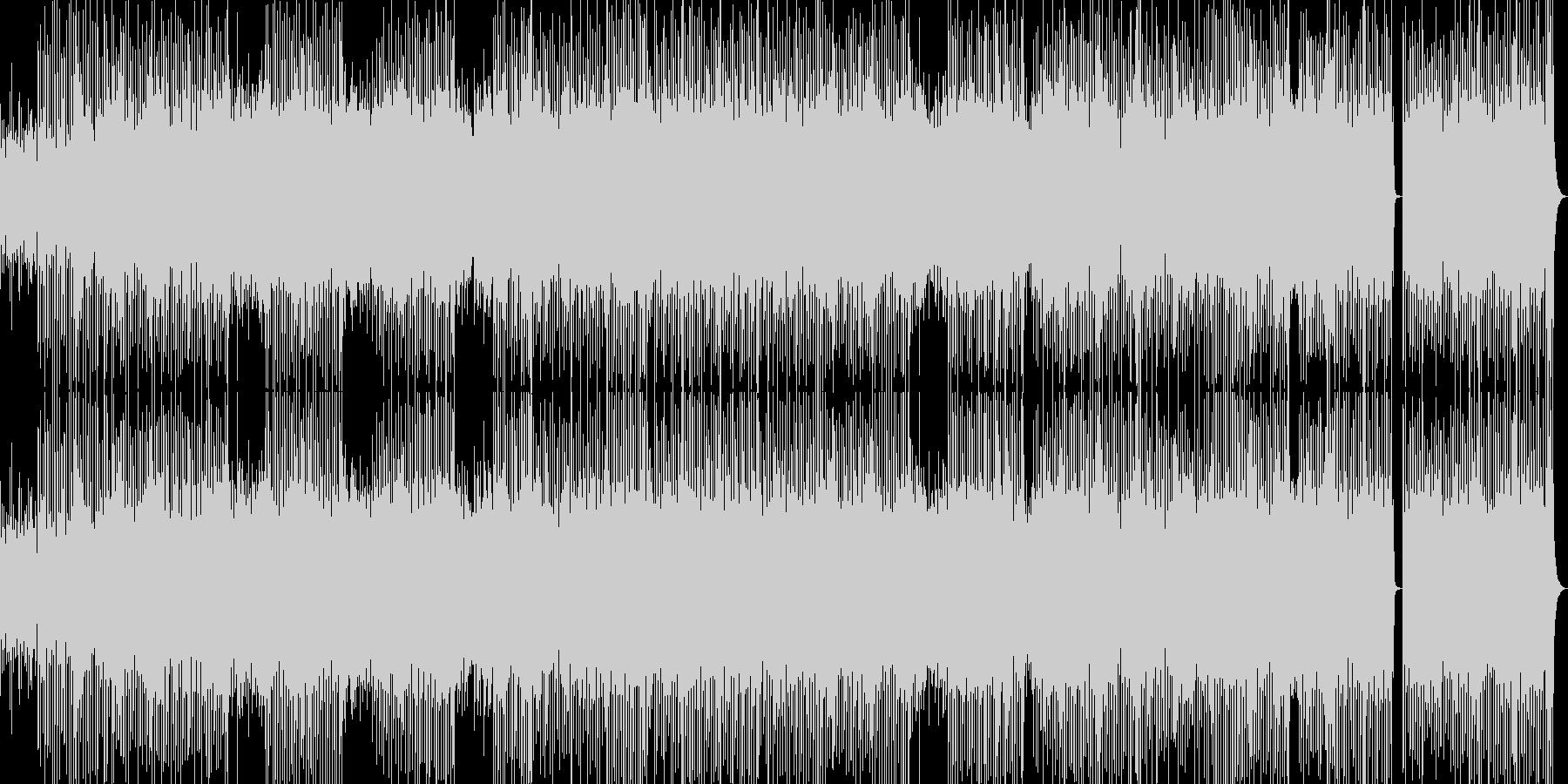 アフリカンパーカッショントライブハウスの未再生の波形