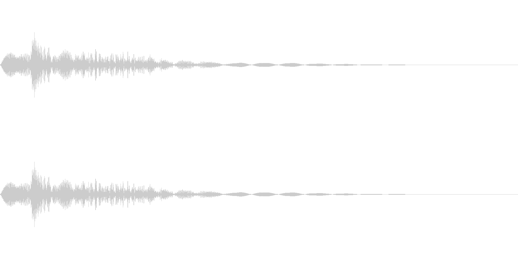 [ピョン]カーソル移動(短くコミカル)の未再生の波形