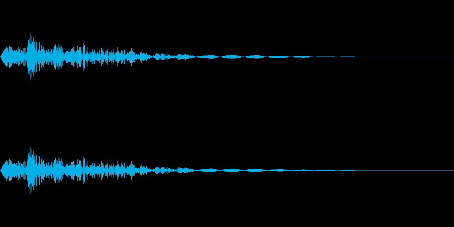 [ピョン]カーソル移動(短くコミカル)の再生済みの波形