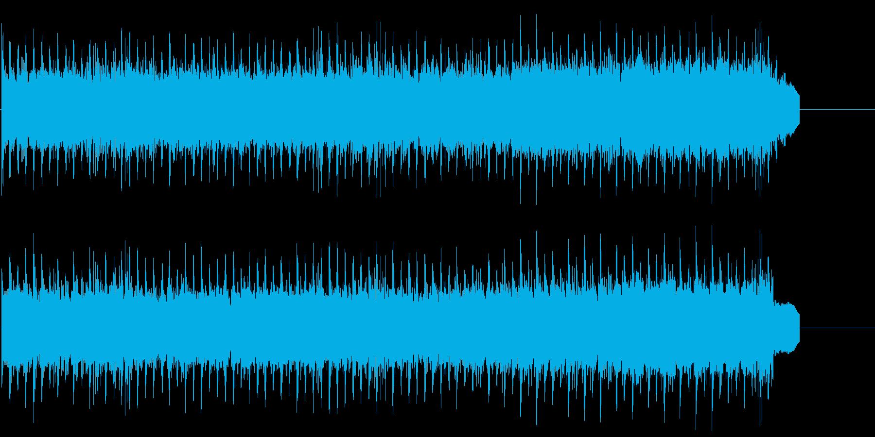 CM 明るい わくわく 楽しい の再生済みの波形