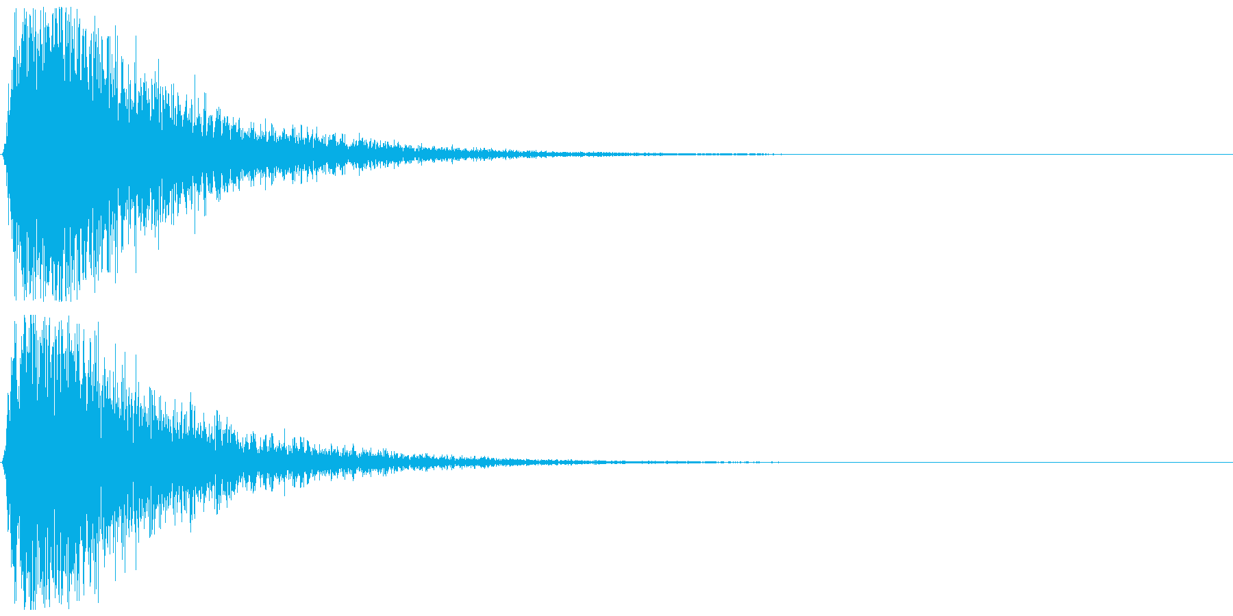 インパクトのあるバサッ:マントや動作音にの再生済みの波形