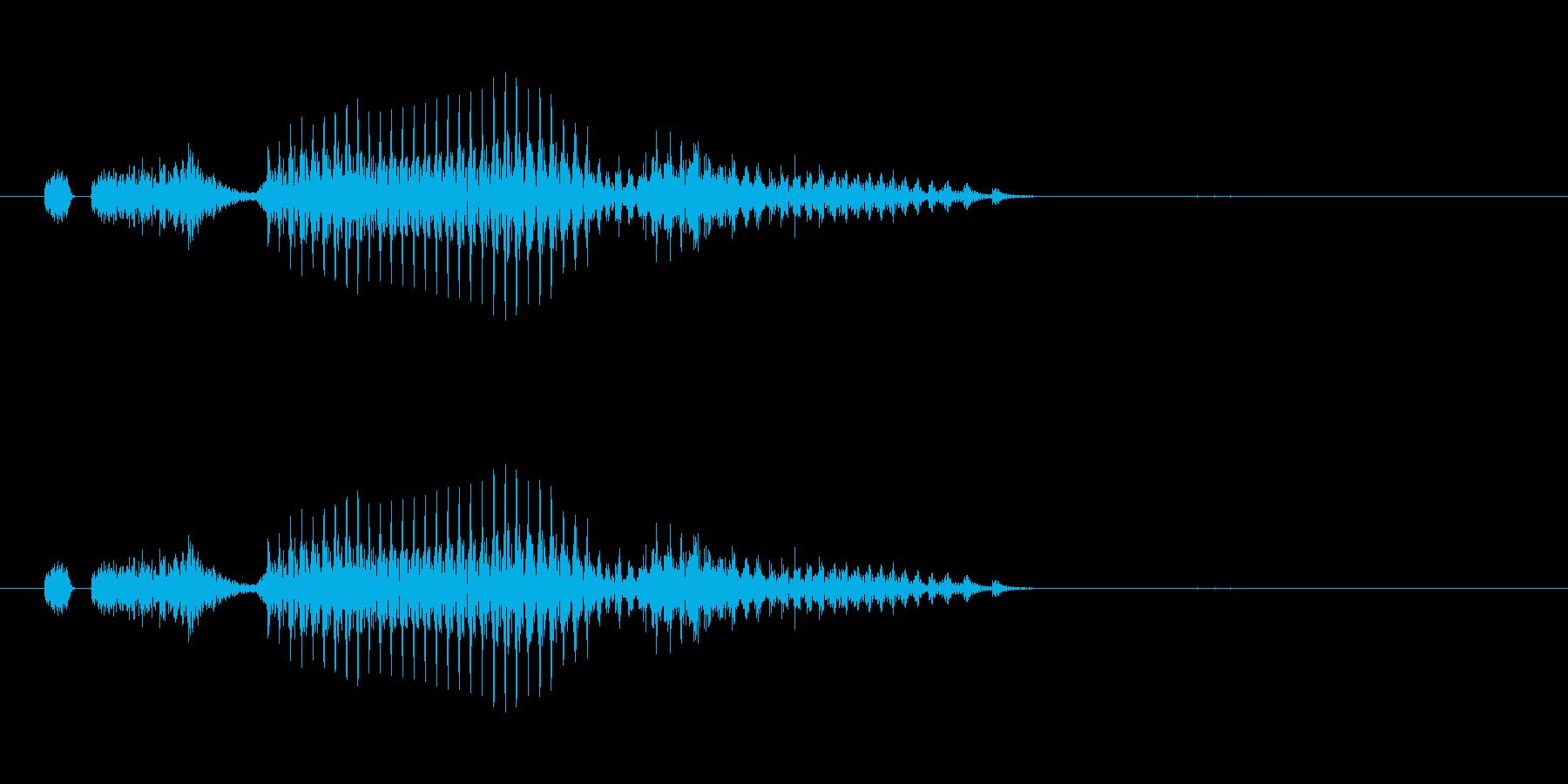 索子(麻雀)の再生済みの波形