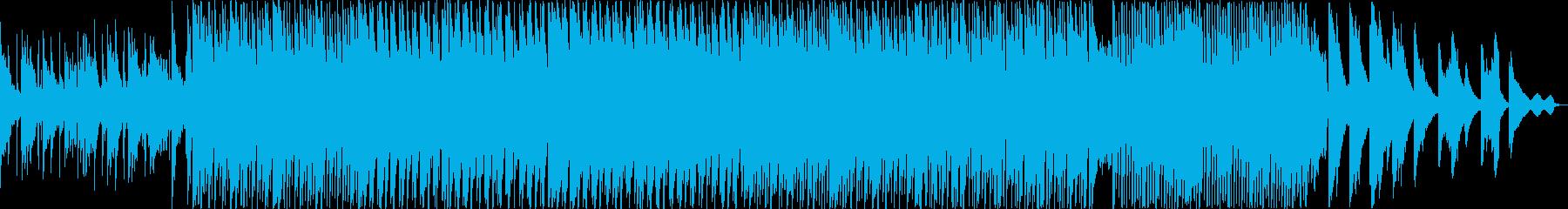 壮大で心の中が広がるかのような曲の再生済みの波形