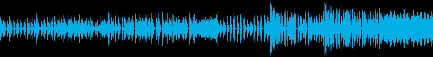 アクションゲームで使えるBGMです。の再生済みの波形