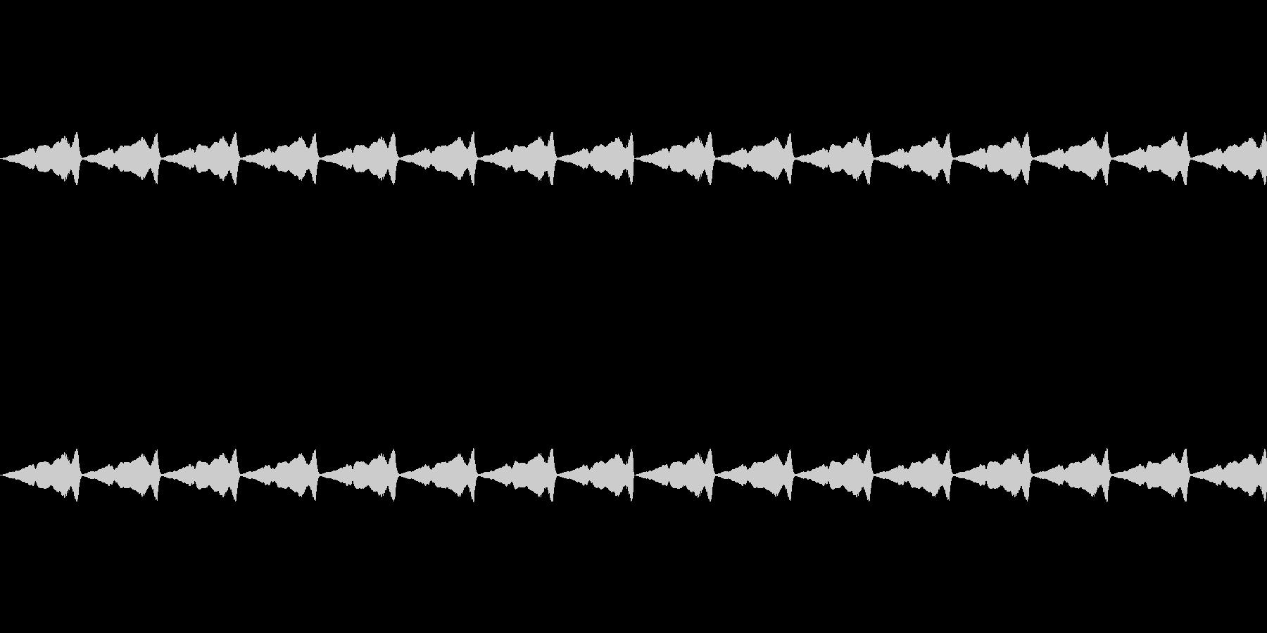 くすぐるような効果音_その2の未再生の波形
