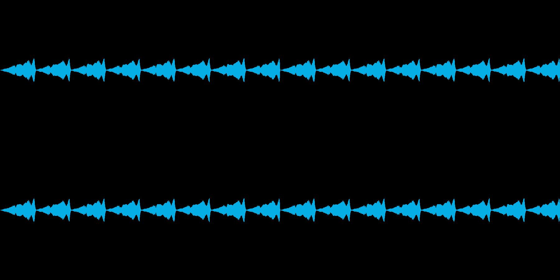 くすぐるような効果音_その2の再生済みの波形