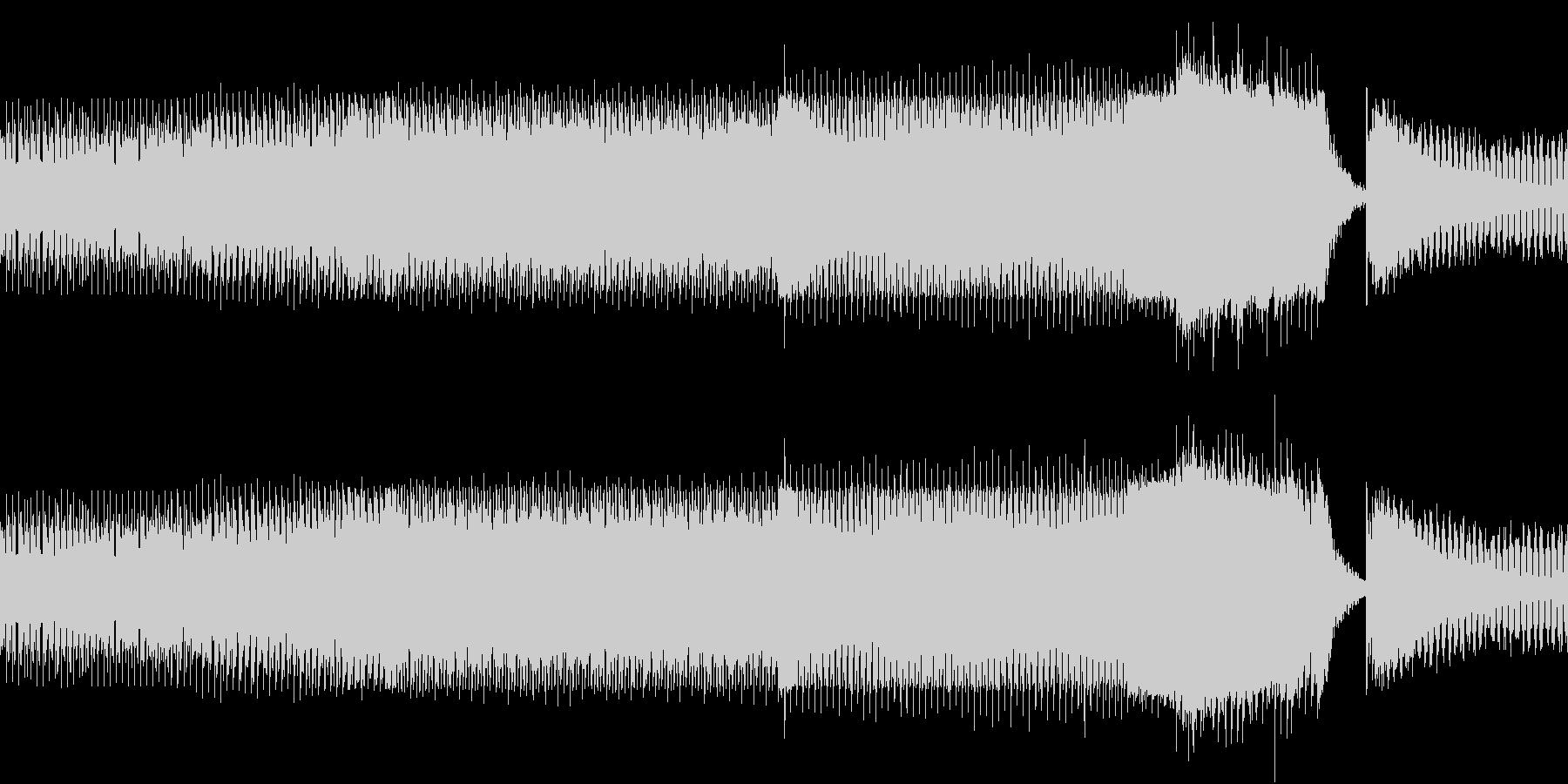 ニュース 報道 事件 EDM 迷走ループの未再生の波形