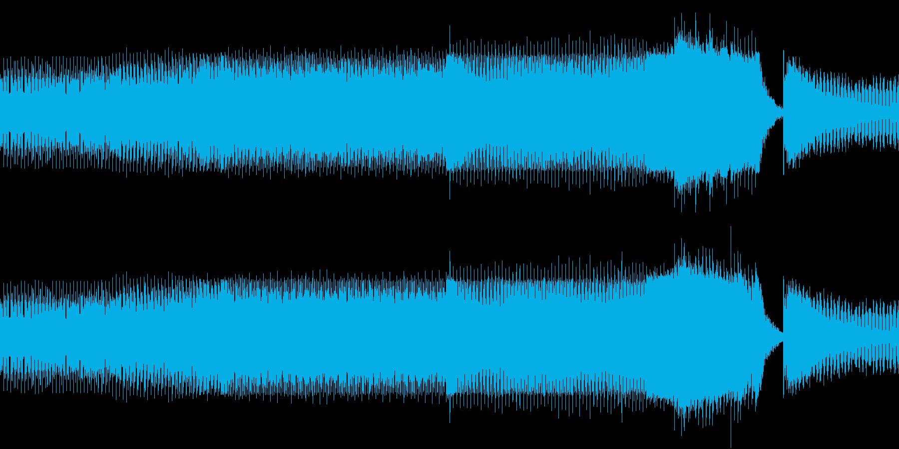 ニュース 報道 事件 EDM 迷走ループの再生済みの波形