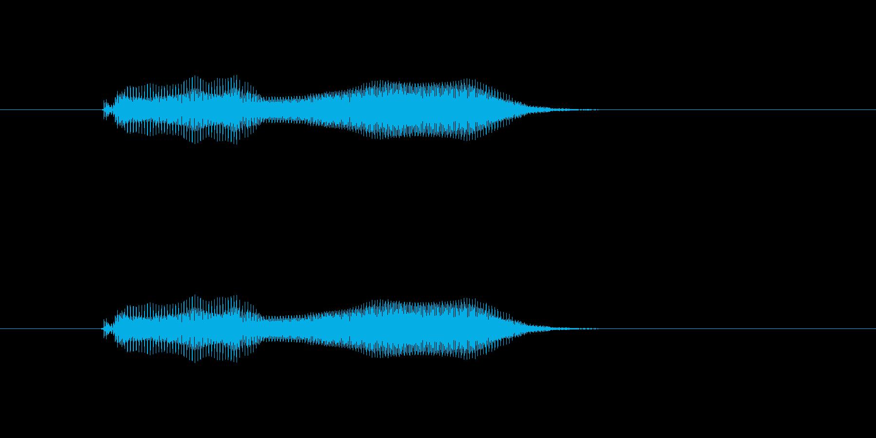 ぷに!の再生済みの波形
