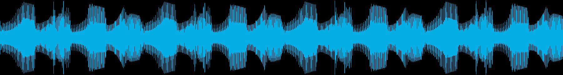 Techno ベース 6 音楽制作用の再生済みの波形