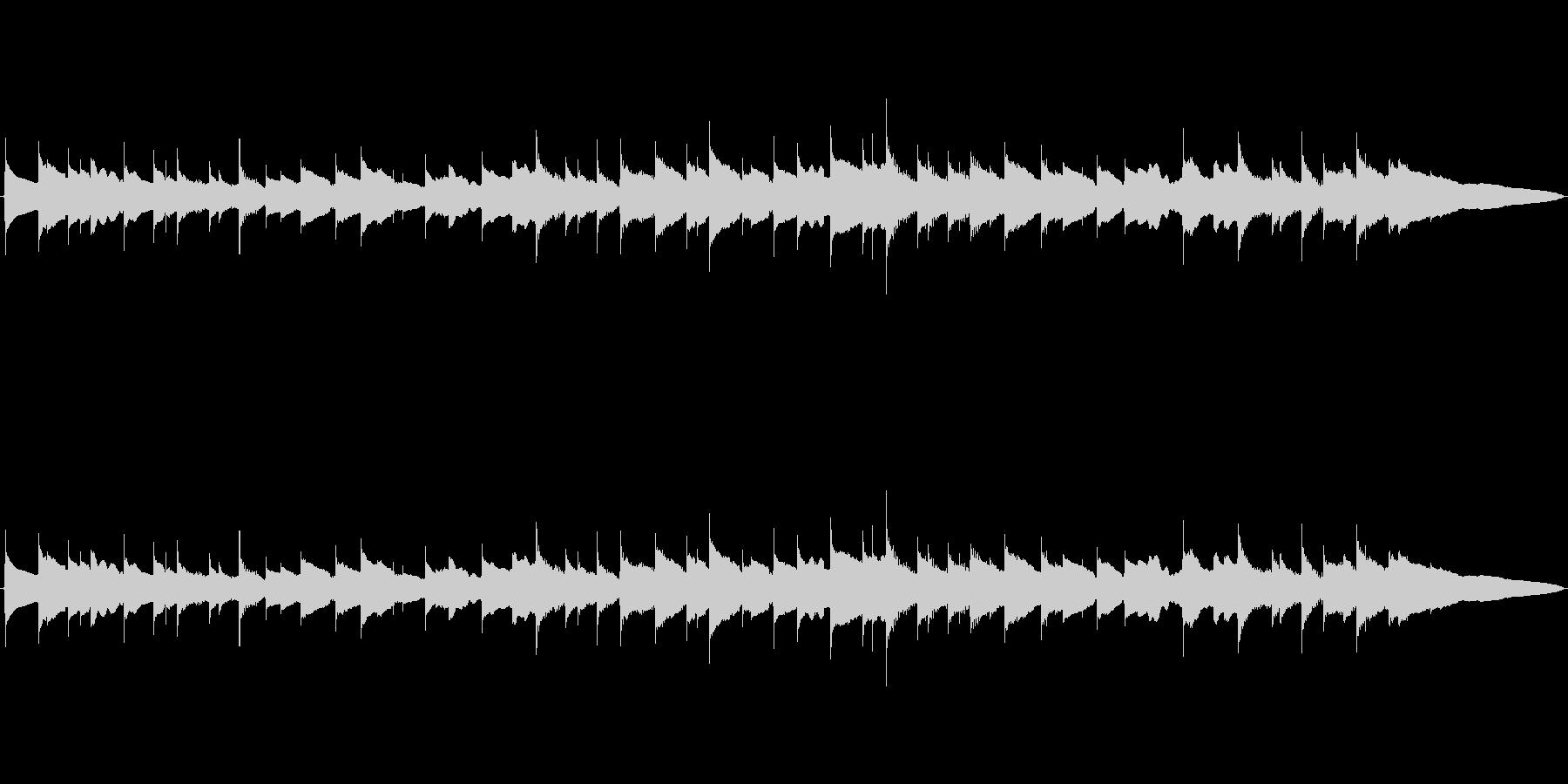 シンプル切なさのハーモニクスの未再生の波形